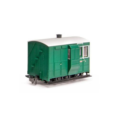 GR-530 Glyn Valley Tramway Freelance 4 Wheel Brake Coach Without Buffers