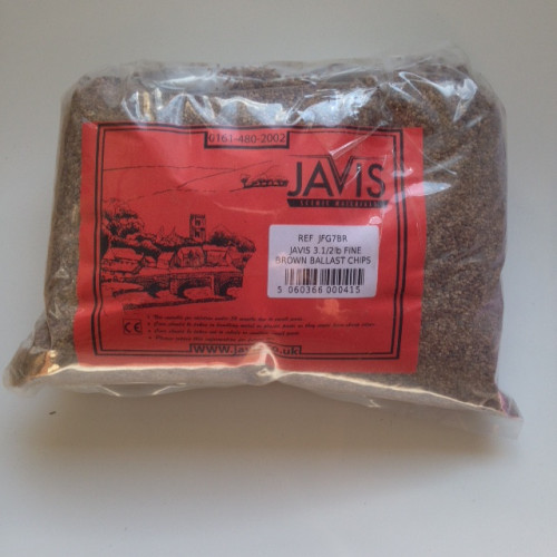 JFG7BR 3.5lb Bag of Fine Granite Chippings - Brown