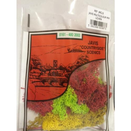 Javis Bag of Multi-Colour Lichen