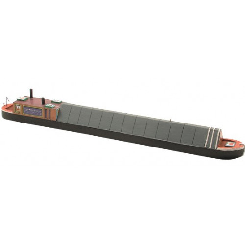 Craftline Models MB70 00 Gauge Motor Driven Covered Canal Narrow Boat 280 x 28mm