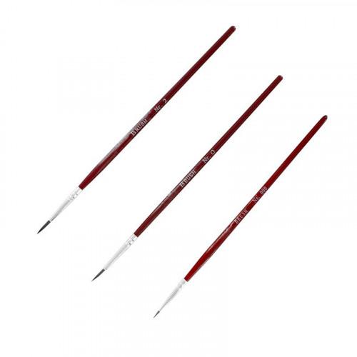 MM004 ModelMaker Three Paint Brushes