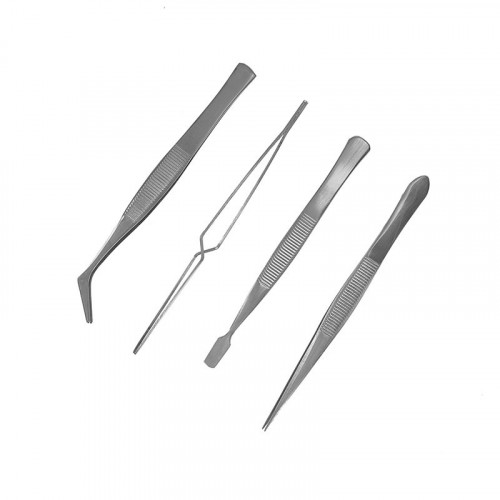 MM005 ModelMaker 4-Piece Tweezer Set