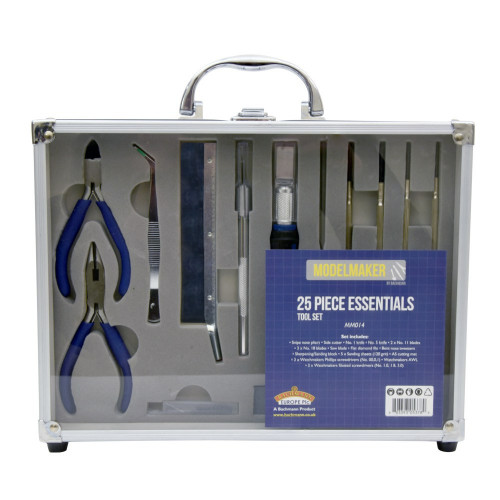 MM014 ModelMaker 25 Piece Essentials Tool Set