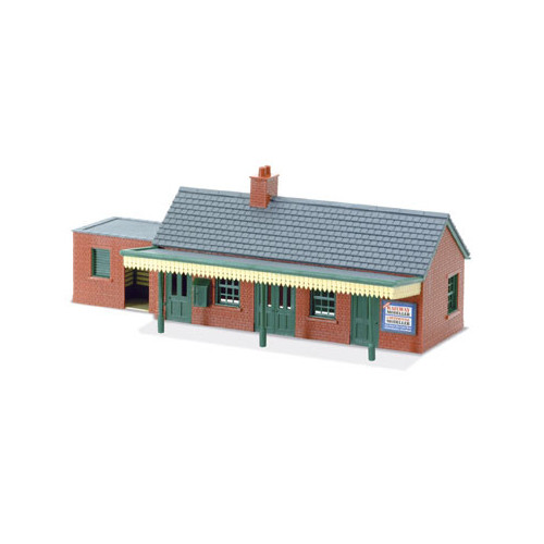 Country Station Building, brick type
