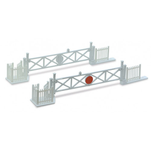 Level Crossing Gates (4) with Wicket Gates and Fencing