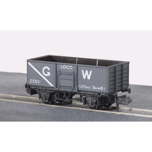 NR-41W 7 Plank Coal Wagon in GW Dark Grey