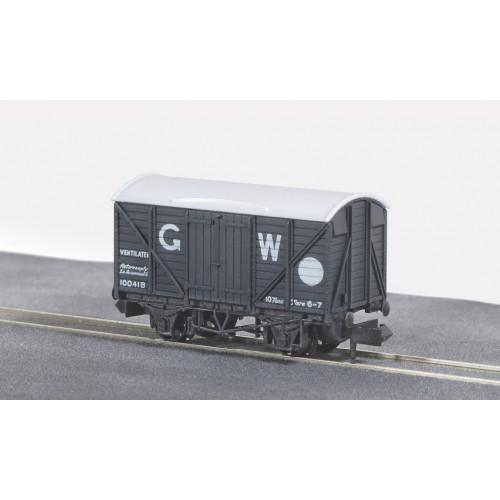 NR-43W Standard Box Van in GW Dark Grey