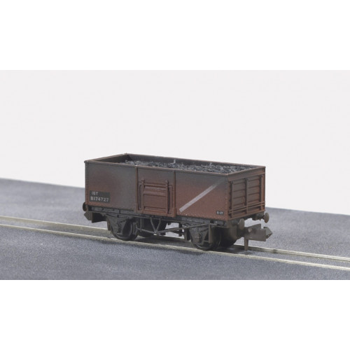 NR-44FW Butterley Steel Type Coal Wagon in Bauxite Livery - Weathered