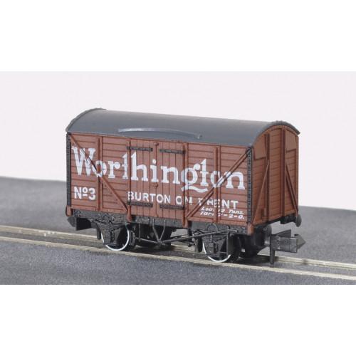 NR-P130 Standard Box Van in Worthington Brown Livery