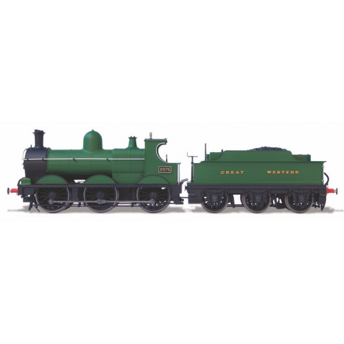 Oxford Rail OR76DG003 0-6-0 Dean Goods Locomotive No.2475 in Unlined Great Western Green Livery
