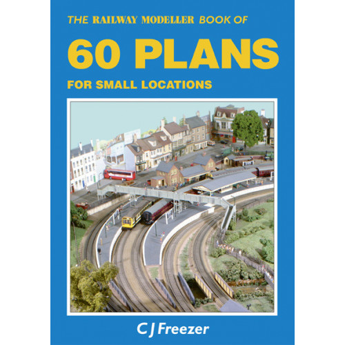 PB-3 The Railway Modeller Book of 60 Plans for Small Locations