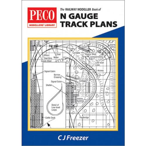 PB-4 Railway Modeller Book of N Gauge Track Plans