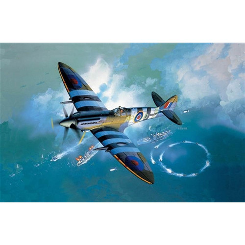 Academy PKAY12274 1:48 Scale Spitfire Mk XIVc Aircraft