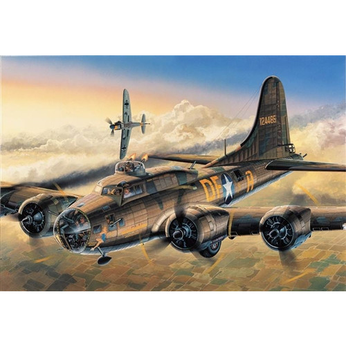 Academy PKAY12495 1:72 Scale B-17F Memphis Belle Aircraft