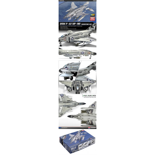 Academy PKAY12515 1:72 Scale USN F-4J Phantom 'Showtime 100' Aircraft