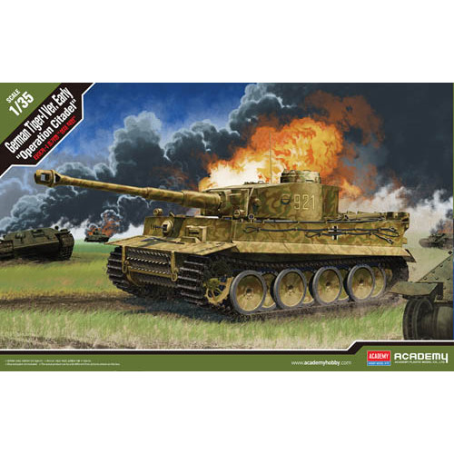 """Academy PKAY13509 1:35 Scale German Tiger I Early """"Operation Citadel"""""""