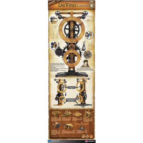 Academy PKAY18150 Da Vinci Clock