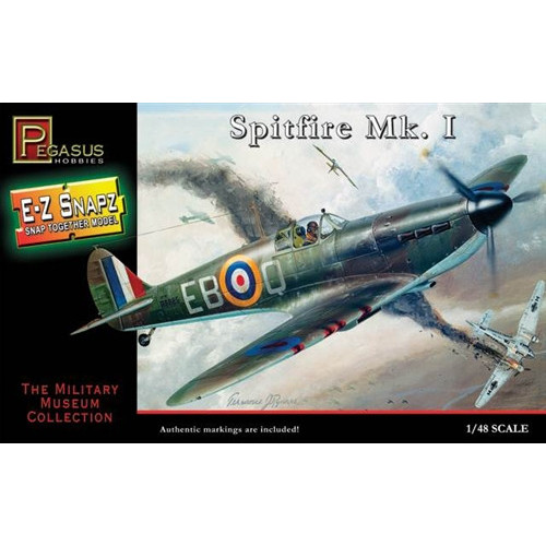 Pegasus PKPG8410 1:48 Scale Spitfire Mk I Aircraft