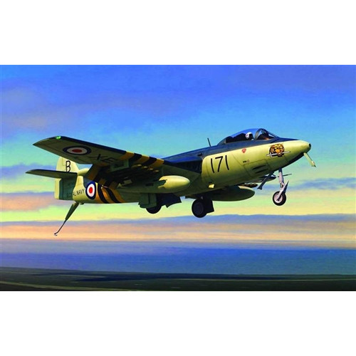 Trumpeter PKTM02826 1:48 Scale Hawker Sea Hawk FGA Mk 6 Aircraft