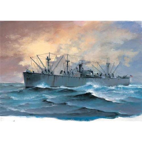 Trumpeter PKTM05755 1:700 Scale SS Jeremiah O'Brien Liberty Ship