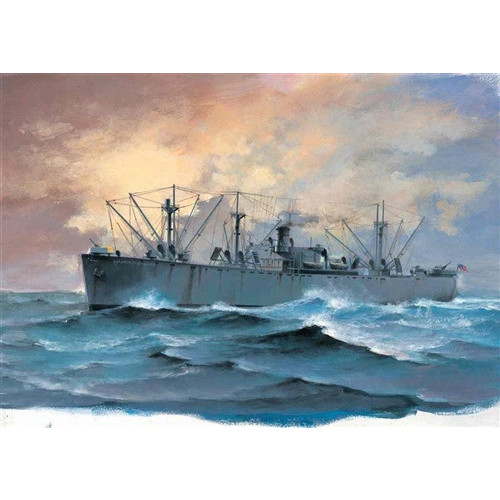 Trumpeter PKTM05755 1:700 Scale SS Jeremiah O'Brien Liberty Ship