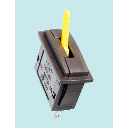 PL-26Y Passing Contact Switch, Yellow Lever