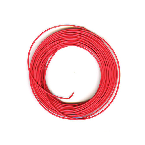 PL-38R 3amp 16 Strand Red Electrical Wire x 7m