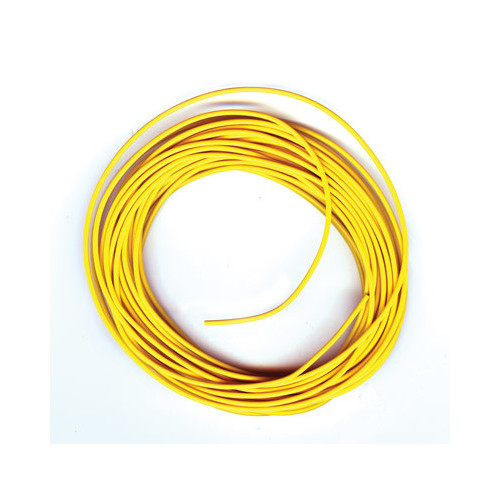 PL-38Y 3amp 16 Strand Yellow Electrical Wire x 7m