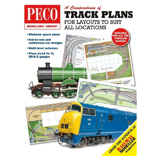 PM-202 Track Plans for Layouts to Suit all Locations
