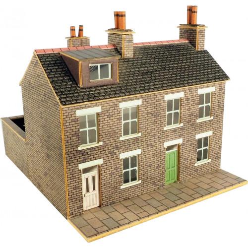 PN104 Metcalfe N Gauge Stone Built Terraced House