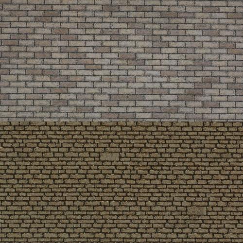 PN115 Metcalfe N Gauge Stone Sheets