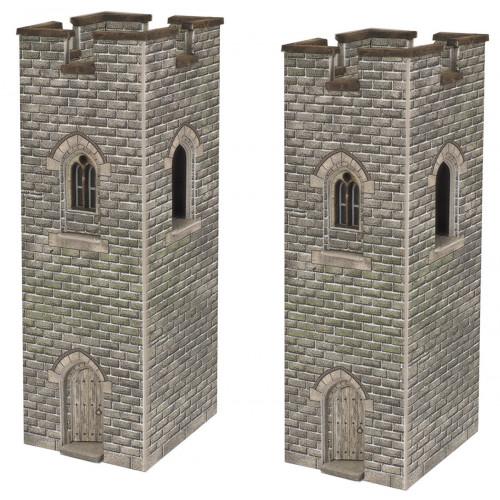 PN192 N Gauge Castle Watch Towers