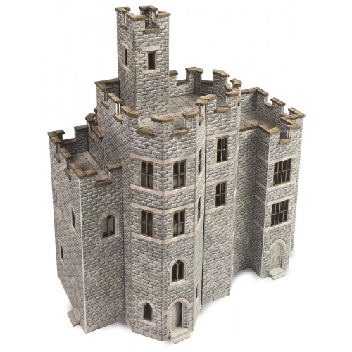 PN194 N Gauge Castle Hall