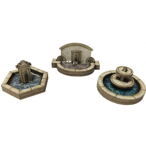PN823 Metcalfe N Gauge Stone Fountain Set