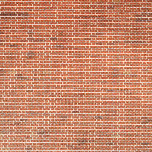 PN900 Metcalfe N Gauge Red Brick Sheets