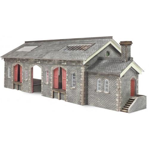 PN936 Metcalfe N Gauge Settle Carlisle Railway Goods Shed
