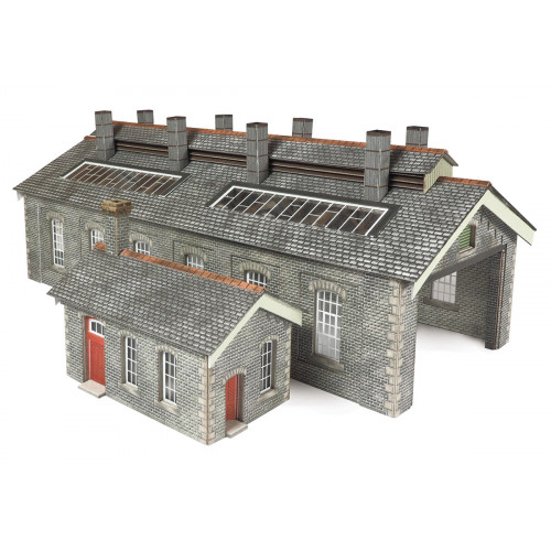 PN937 Metcalfe N Gauge Stone Double Track Engine Shed