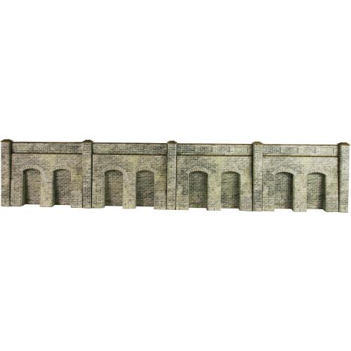 PO245 Metcalfe 00 Gauge Stone Retaining Wall