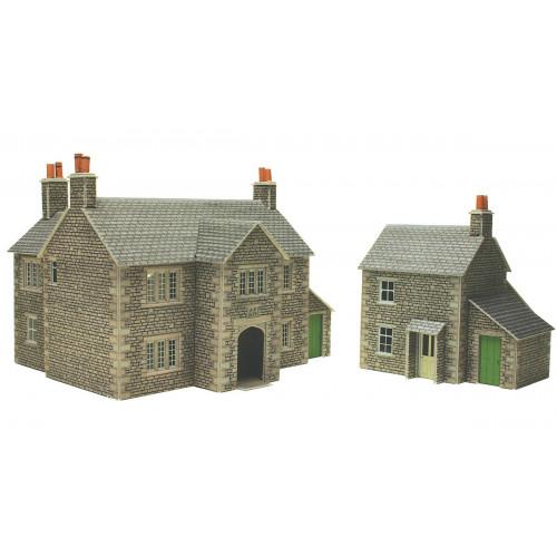 PO250 Metcalfe 00 Gauge Manor Farm House