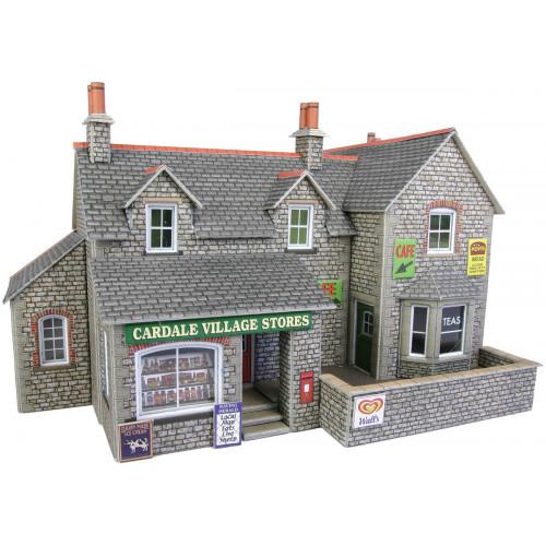 PO254 Metcalfe 00 Gauge Village Shop & Cafe