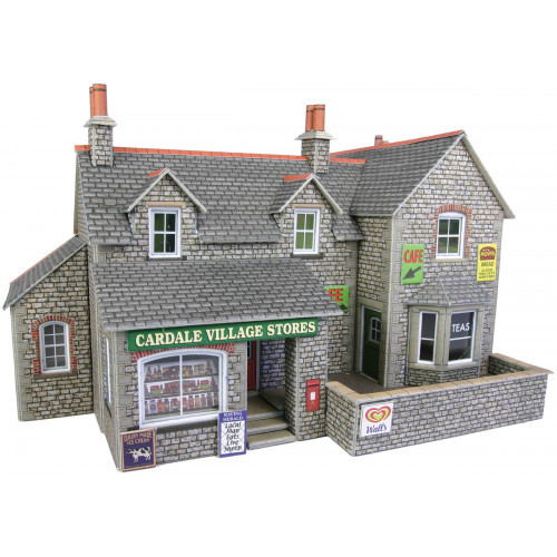 PO254 Metcalfe 00 Gauge Village Shop & Cafe