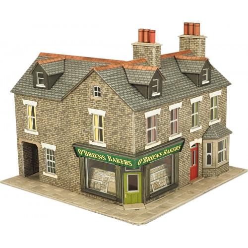 PO264 Metcalfe 00 Gauge Stone Corner Shop