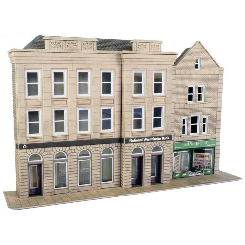 PO271 Metcalfe 00 Gauge Relief Banks & Shops Kits - Low Relief