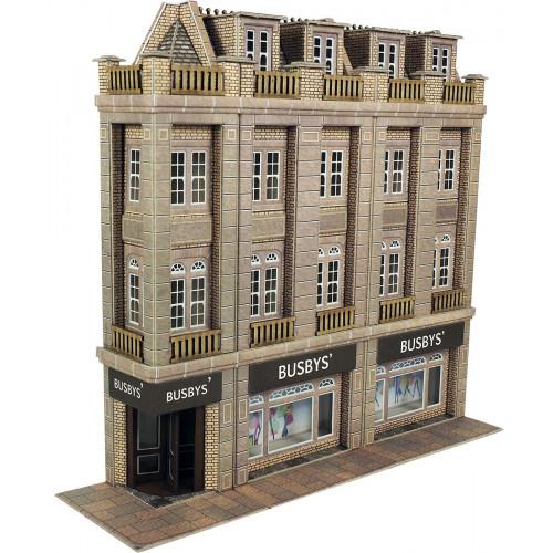 PO279 Metcalfe 00 Gauge Department Store - Low Relief