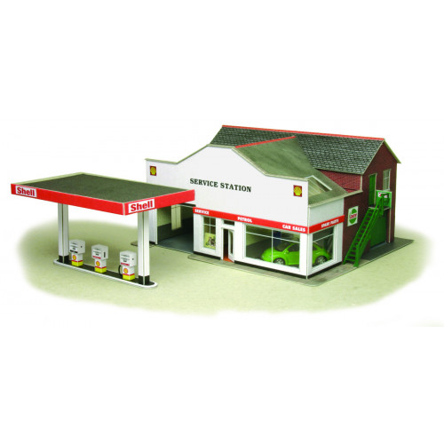 PO281 Metcalfe 00 Gauge Service Station