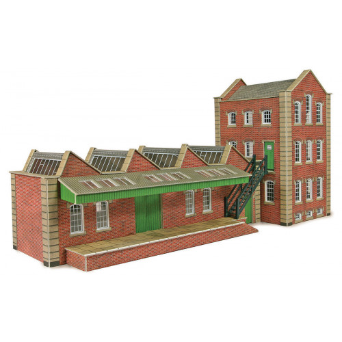 PO283 Metcalfe 00 Gauge Small Factory