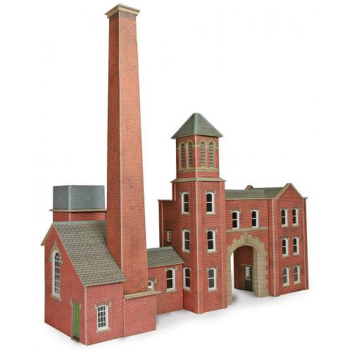 PO284 Metcalfe 00 Gauge Boilerhouse & Factory Entrance