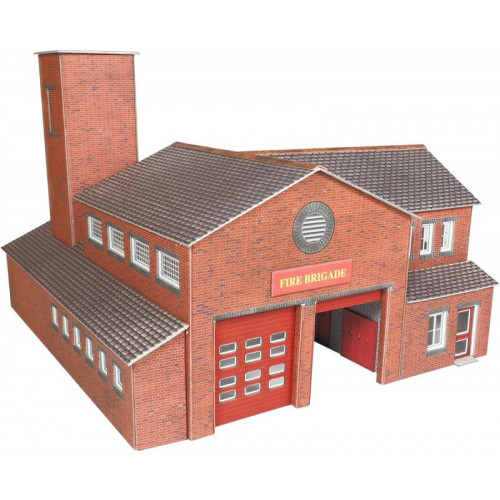 PO289 Metcalfe 00 Gauge Fire Station