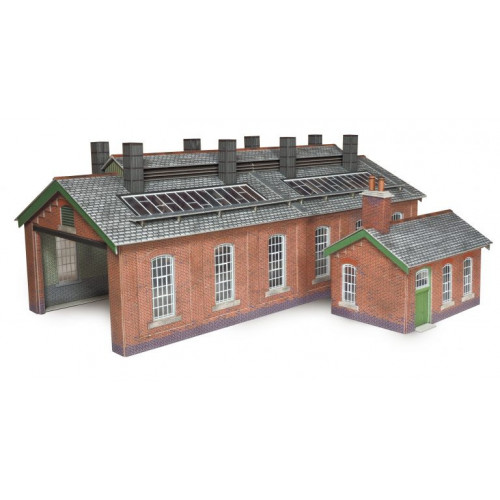 PO313 Metcalfe 00 Gauge Double Track Engine Shed