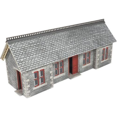 PO334 Metcalfe 00 Gauge Settle & Carlisle Station Shelter